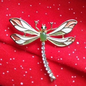 A dragonfly pin